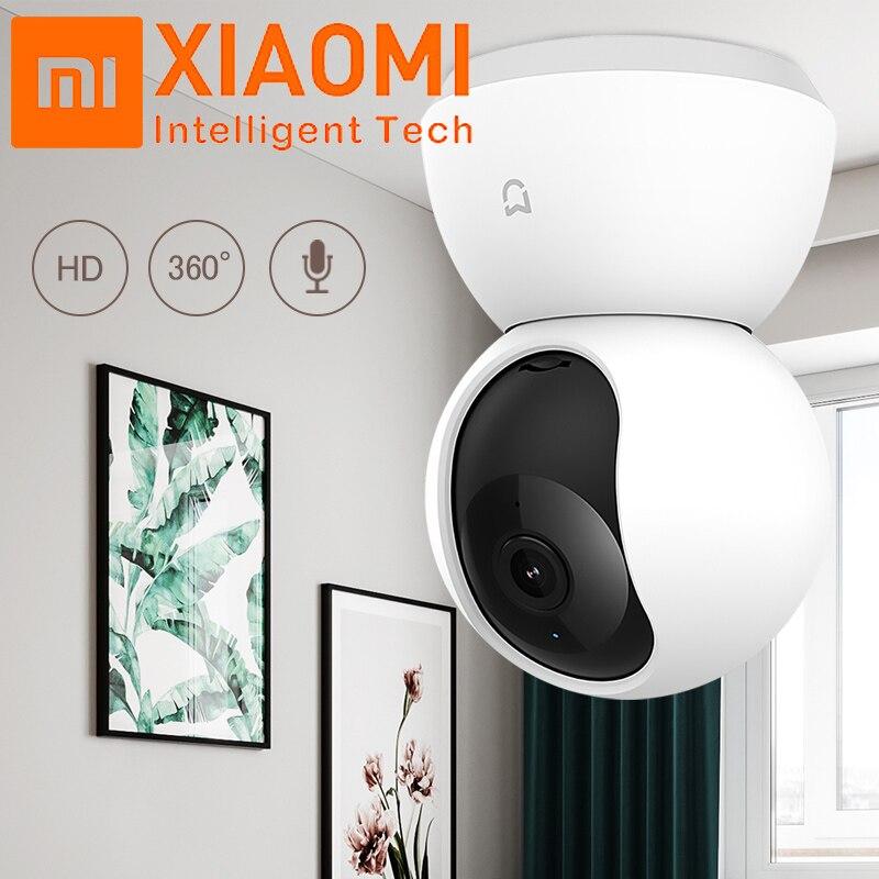 Original Xiaomi Mijia 1080P 360 Graus Panorâmica Casa WiFi IP Cam Visão Noturna Inteligente Camera Webcam Filmadora AI Reforçada movimento