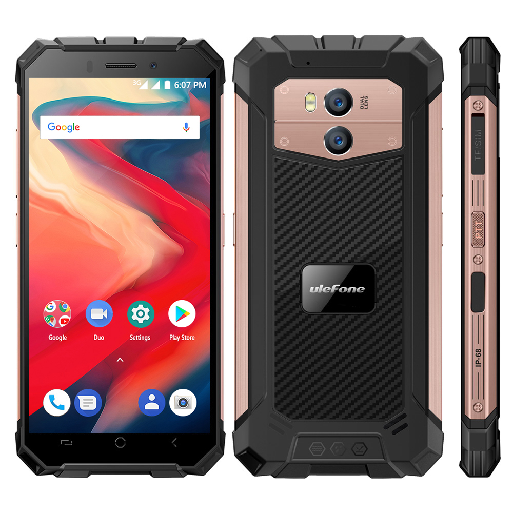 Original Ulefone Armor X2 IP68 Waterproof Mobile Phone Android 8 1 5 5 inch HD Quad