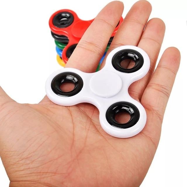 Nouveau créatif Fidget Spinner bureau Anti-Stress doigt camouflage Spin haut EDC jouet sensoriel cadeau pour enfant