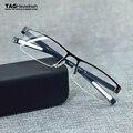 Ultraligero ETIQUETA marca deportes gafas de moda caja de negocios medio marco óptico miopía del marco marco de los vidrios hombres y mujeres tag TH0882