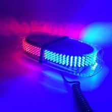 12/24 V салона Потолочный магнитное основание крыше автомобиля мигающий Строб аварийного Light 240 светодиодный полиции маяки Предупреждение мини освещения