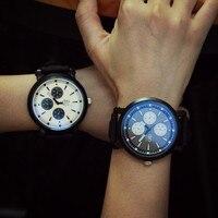 Lovesky Hot Sale Fashion Unisex Men Women Blue Ray Glass Quartz Analog Wrist Watch Watches Freeshipping