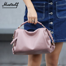 MEETSELF Small Bag Women Handbags Clutch Leather Simple Female Designer Mini Shoulder Lady Top-Handle Bags Bolso Svy-003