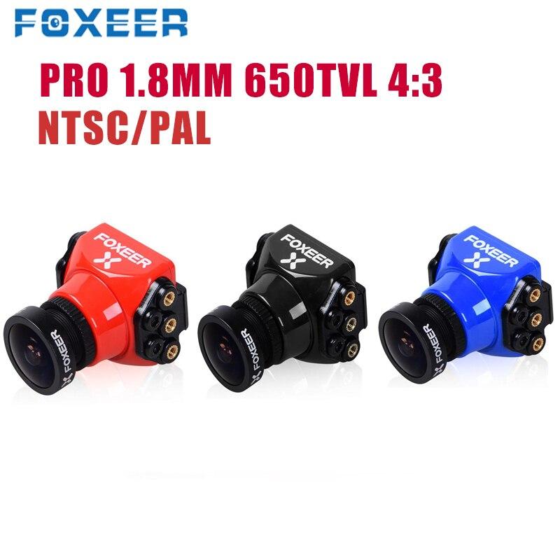Foxeer Arrow Mini/Standard Pro 1.8mm 650TVL 4:3 WDR FPV Camera Built in OSD Bracket NTSC/PAL RC Mini Camera For RC Drone Parts|Parts & Accessories| |  - title=