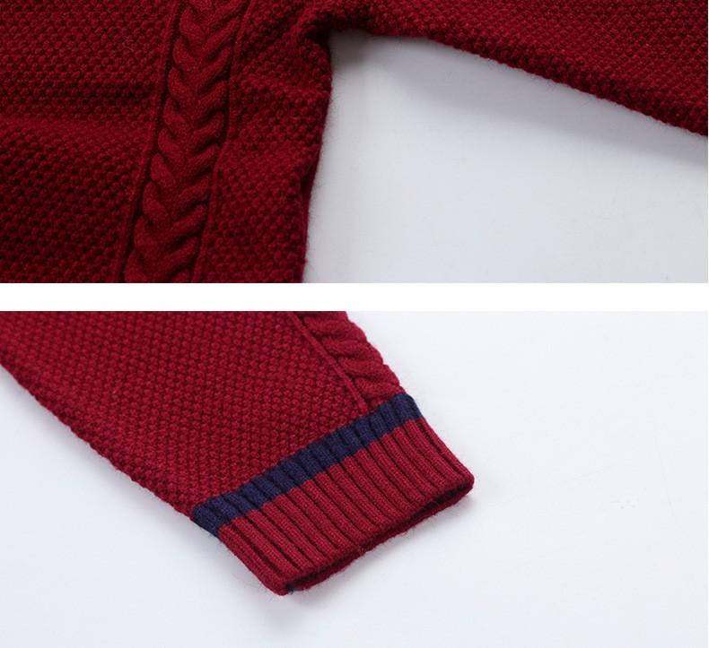 HTB166YGOXXXXXaAXVXXq6xXFXXXr - 2017 Children's sweater Winter new  Keep warm Cashmere boy sweater V-collar Kids for boys Children's clothing Winter clothing