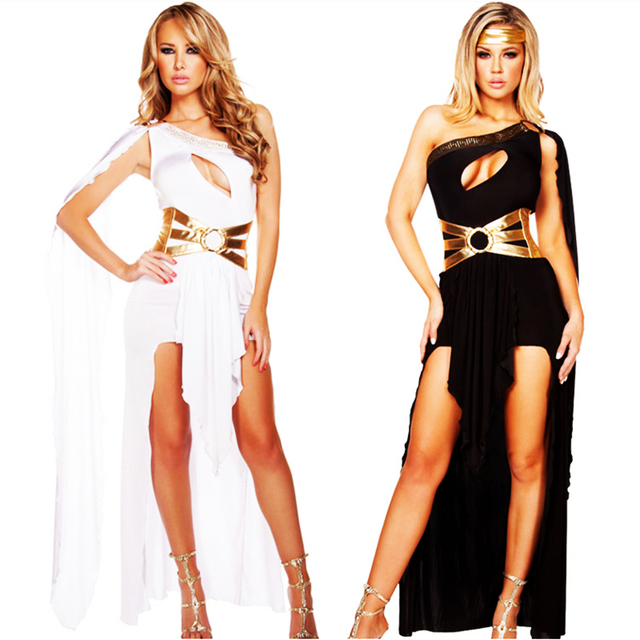 4fba599a7252 2018 new high quality Cleopatra Masquerade Party Dress Greek Goddess  Cosplay clothing Adult Egyptian Queen Costume Halloween