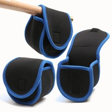 2pcs/lot Neoprene Fly Reel Bag Protective Fly Reel Pouch Covers--5/7