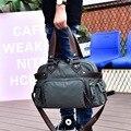 Повседневные дорожные сумки  новые модные женские багажные сумки большой вместимости  оксфорды  сумки через плечо  дорожные сумки kz613