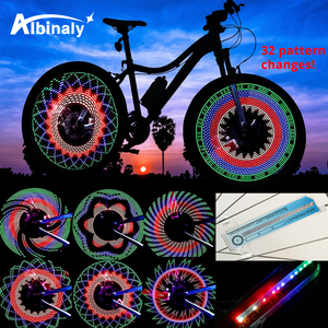 30 pattern Bike light Bicycle