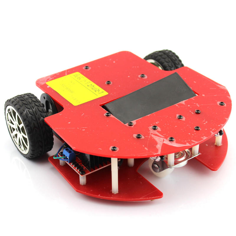 Zhuiz Smart Car, DIY Roaming, Fun 51 Microcontroller Production Kit, Anti-drop Robot ModelZhuiz Smart Car, DIY Roaming, Fun 51 Microcontroller Production Kit, Anti-drop Robot Model
