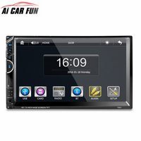 7001 7 inch 2 din 12V 1080P Car Multimedia MP5 Player Car Bluetooth RDS Radio Player Rearview Camera Support USB AUX