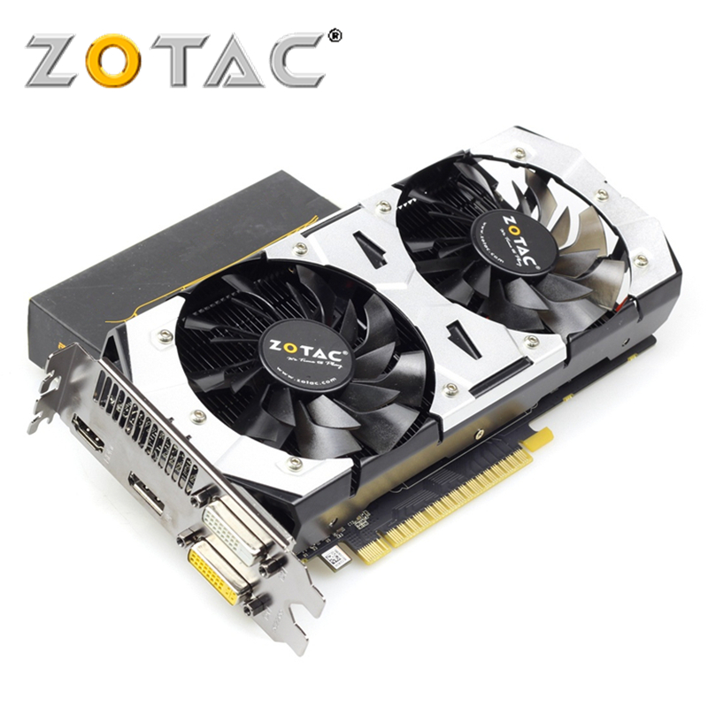 ZOTAC Video Card GeForce GTX750-1GD5 1GB 128Bit GDDR5 Graphics Cards For NVIDIA Original Map GTX 750 1GD5 Devastators HA Hdmi