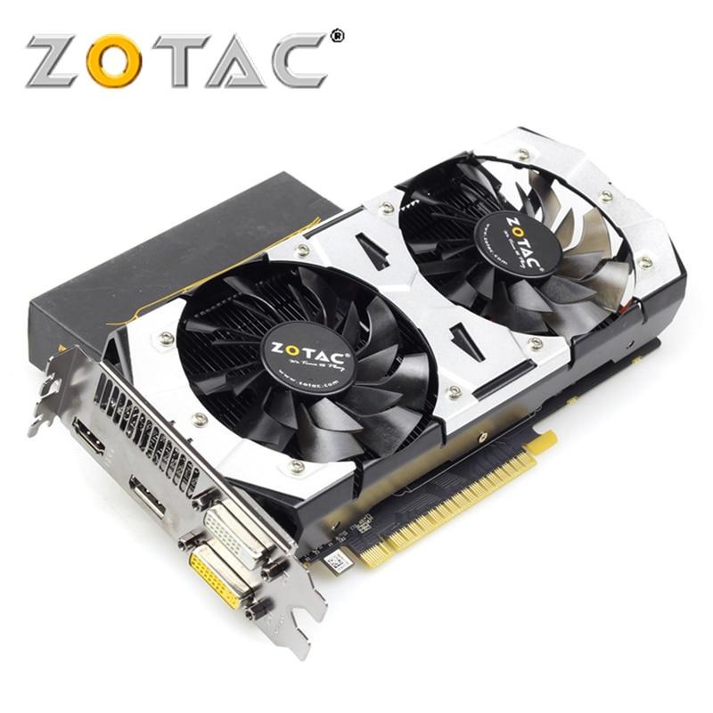 ZOTAC tarjeta de vídeo GeForce GTX750 1GD5, 1GB, 128Bit, GDDR5, para nVIDIA, Mapa Original, GTX, 750, 1GD5, Devastator, HA, Hdmi Tarjetas gráficas  - AliExpress