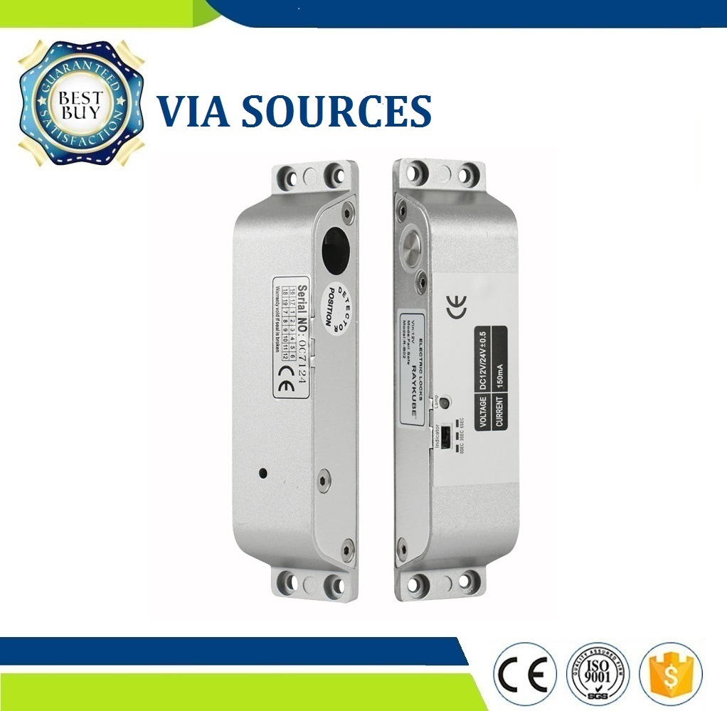 Free Shipping Electric Mortise Lock For Door Access Control System Electric Bolt Lock R-B02 Home Security Office Factory Usage