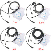 1 1 5 2 3 5M 5 5mm 6 LED Waterproof Android Endoscope Borescope Snake Inspection