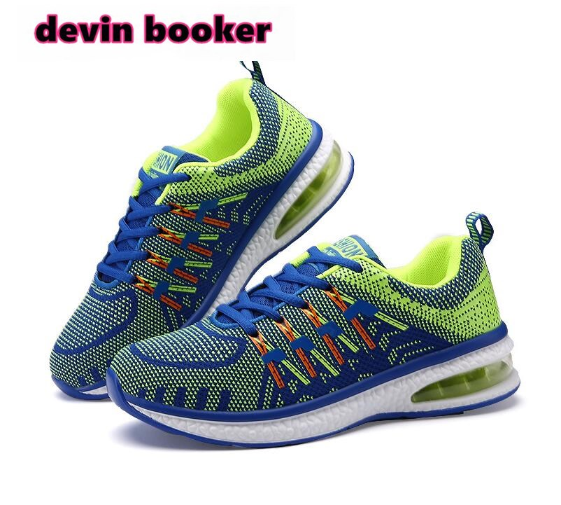 New listing hot sale brand summer Mesh Flying wire weaving Breathable men and women running sneakers lovers shoes D196