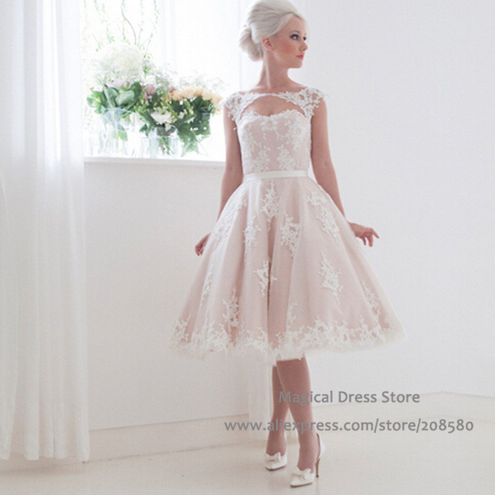 Popular Short Pink Wedding Dresses-Buy Cheap Short Pink Wedding ...
