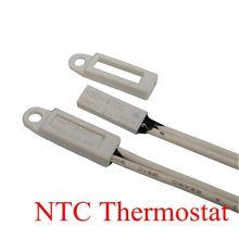 цена на 100PCS Thermostat KSD9700/TB02 40C-150C 100C 105C 110C 120C 15*5.4*2.4 Bimetal Disc Temperature Switch Thermal Protector degree