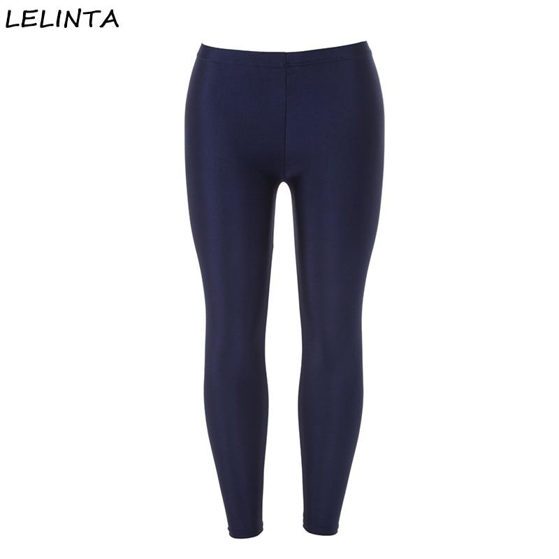 LELINTA Women's Black Sportes Pants High Waist Tummy Control Shapewear Ankle   Legging     Leggings   Woman Pants Elastic Stretch Pant