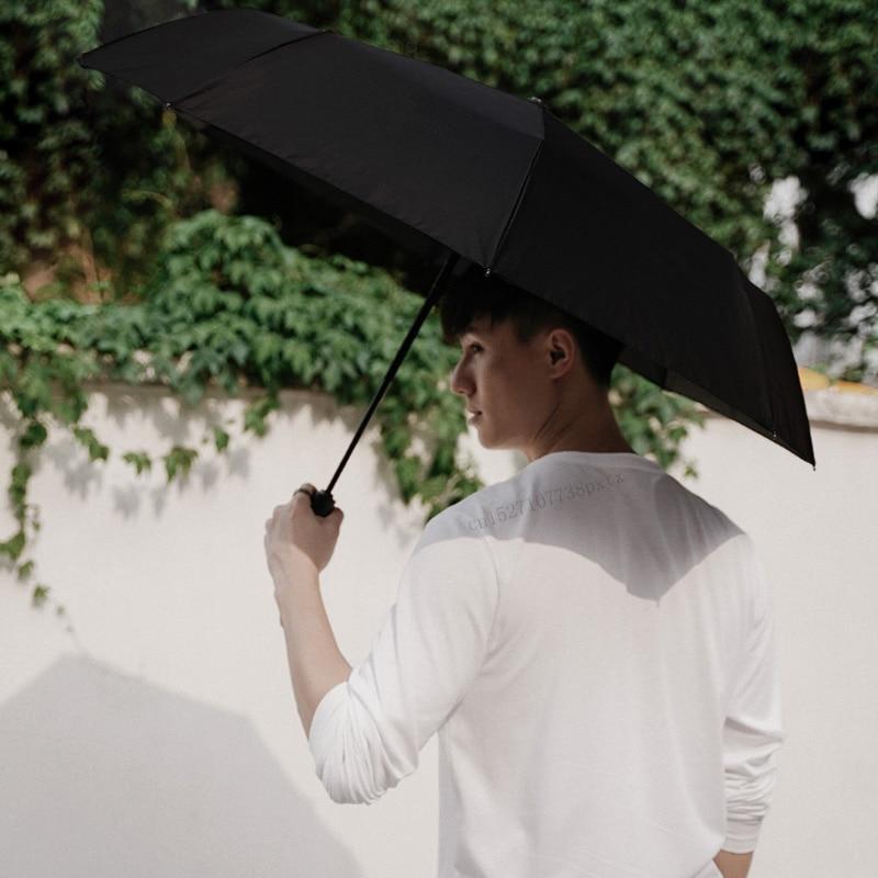 Image 4 - Xiaomi Mijia KG Automatic Rainy Umbrella Sunny Rainy Summer Aluminum Windproof Waterproof UV Parasol Sunshade Man Woman-in Smart Remote Control from Consumer Electronics