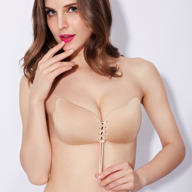 buy hot sale invisible bra silicone push up strapless backless plus size self. Black Bedroom Furniture Sets. Home Design Ideas