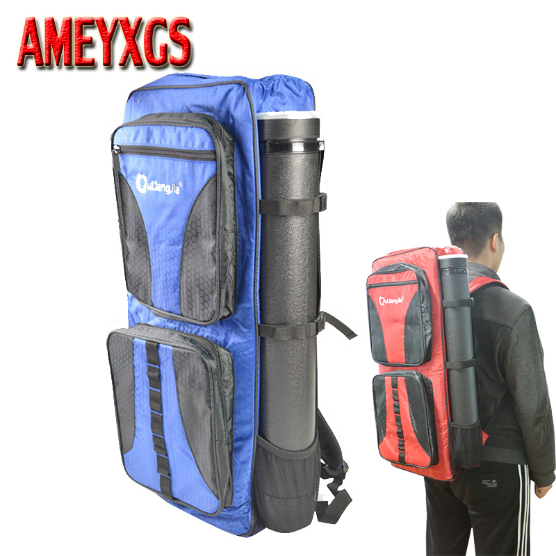 1set Archery Takedown Recurve Bow Backpack Bag With Telescopic Arrow Tube Holder Arrow Bow Accessories dmar archery quiver recurve bow bag arrow holder black high class portable hunting achery accessories
