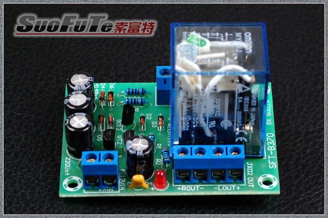 US $16 66 |12V transistor speaker protection board applicable BTL / OTL /  OCL amplifier and other dual channel speaker protection board-in Integrated