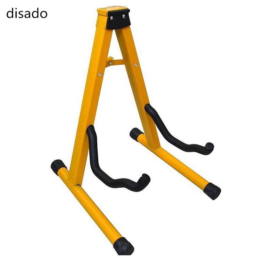 disado Yellow type A Guitar stand acoustic electric guitars and bass ukulele Violin cello stand musical instrument accessories polyester and nylon guitar strap for acoustic electric guitar and bass multi color guitar belt s008