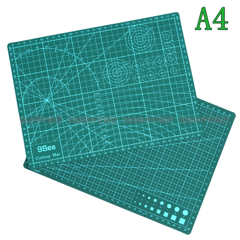 3pcs/lot A4 Cutting Mats  Cutting plate Double cut paper pad Engraving plate gift graver 3 lot