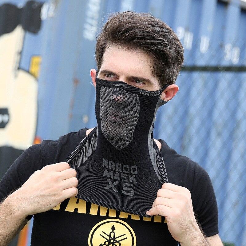Neck Half Face Mask Skull Skeleton Ghost Joker Clown Tube Neck Scarf Face Mask Bicycle Motorcycle Bandana Headband Headscarf