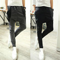 Одежда 2016 новый досуг мода Мозаика движения свободные yeezy boost бегуны pantalon homme gymshark брюки