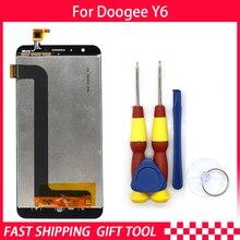 Pantalla LCD original para DOOGEE Y6, piezas de repuesto + herramienta de desmontaje + adhesivo 3M
