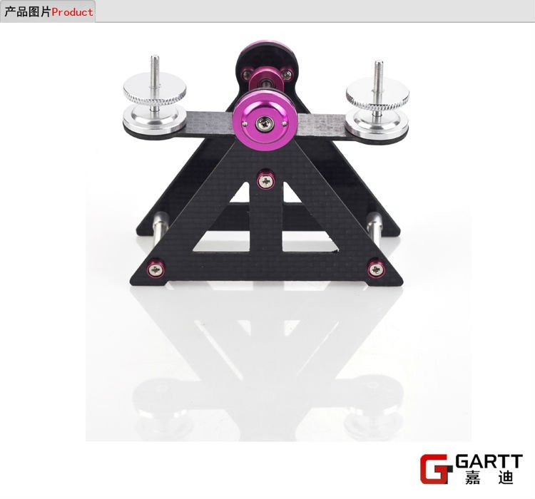 Freeshipping - GARTT Turnigy R/C Helicopter Blade Balancer Carbon Fiber For RC Helicopter Tools Big Sale Freeshipping