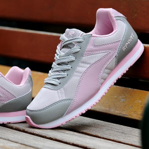 new arrival 782ea eff6e Light weight women running shoes max Chinese 40 student sports shoes