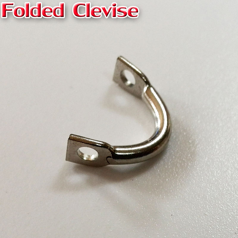 HOT  Easy-spin clevises lure accessories tackle craft number:300pcslot