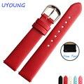 12mm14mm16mm18mm20mmhigh qualidade fiado seda cinta genuína pulseira de couro assistir mulheres pulseira para tissot marca moeda