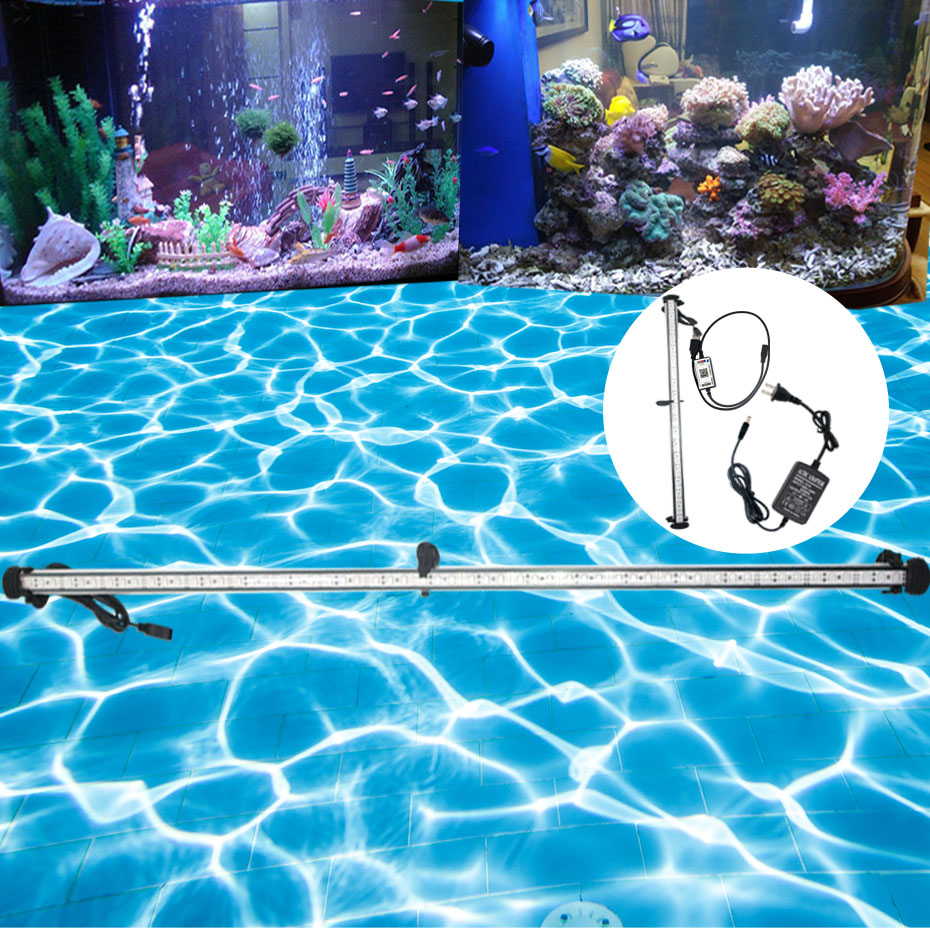 99CM Submersible Led Light For Aquarium Marine Led Lighting Fish Tank Led Light Fixtures Waterproof Aquarium Lighting Led Lamp   (7)