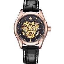 ORKINA hombre reloj hombres de lujo de marca reloj mecánico automático relojes  esqueleto masculino reloj caliente ebddbb8baf2b