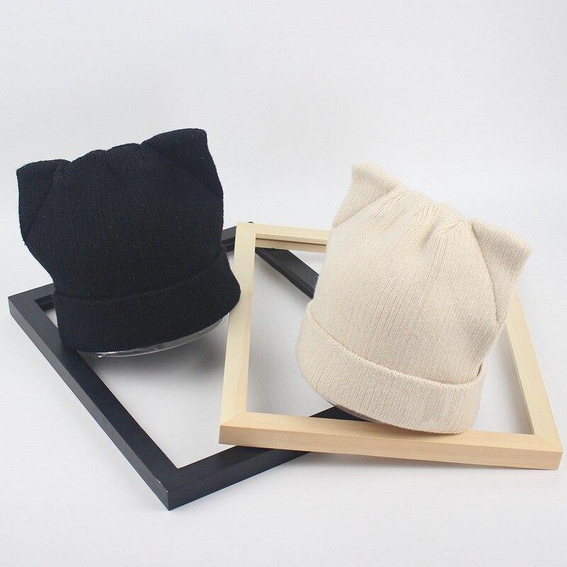 Ellacey 2018 Otoño Invierno lindo Navidad sombreros gato orejas al ...