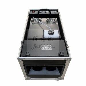 Image 3 - 1x 新デザインダブルホース出口水スモークマシン dmx リモートコントロール舞台効果 3000 ワット水低フォグマシン