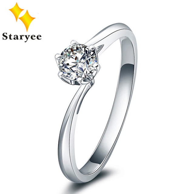 jewellery side diamond f moissanite solitaire diamonds rose color one e carat gold shop forever round brilliant engagement kt ring with