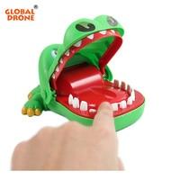2016 Best Halloween Toys Crocodile Mouth Dentist Bite Finger Game Funny Toy For Children