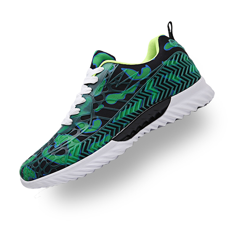 Graffiti Mesh Fashion Colorful Street Footwear Sneakers For Man Breathable Light Rubber Shoes Lycra Lovers Chaussures Hommes in Men 39 s Casual Shoes from Shoes