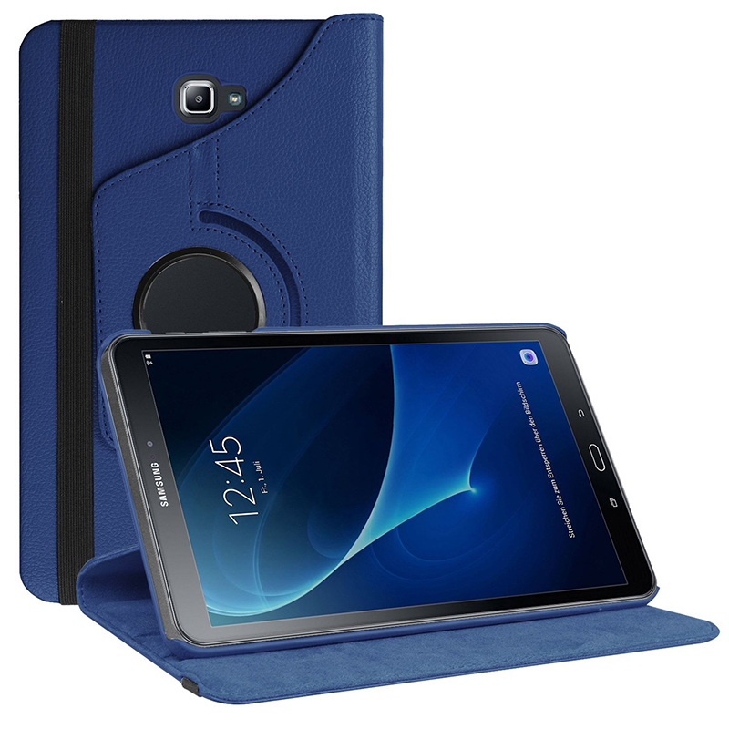 <font><b>360</b></font> Protective Case for Samsung Galaxy Tab A A6 <font><b>10.1</b></font> 2016 SM-T580 T580N T585 T585C Tablet PC Case with Stand Auto Sleep Wake+Pen image