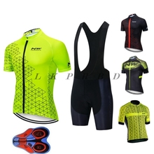 NEW cycling jersey short sleeve summer nw 2019 NW bib shorts bicycle clothes drying fast breathing for roupa maillot set