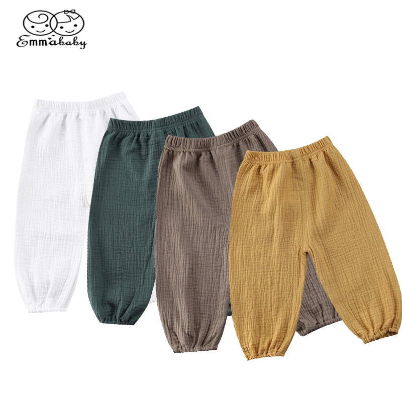 Emmababy Toddler Infant Baby Girl Boy Pants Wrinkled Cotton Vintage Bloomers Trousers Legging Pants Boby Clothing 3d print parts cnc mgn7c mgn12c mgn15c mgn9c mini linear rail guide 1pc mgn linear rail guide 1pc mgn slider
