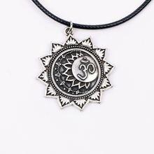 Ожерелье с подвеской Йога Ом мандала тибетский религиозный Тибетский