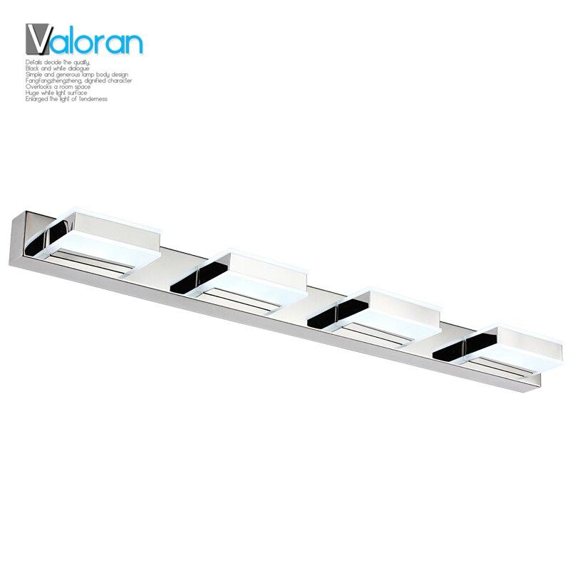 ФОТО Abajur Modern 3w 6w 9w 12w Bathroom Led Mirror Light Ac90-230v Smd2835 Mini Style Cool White Wall Lamps Lampada De Wholesale
