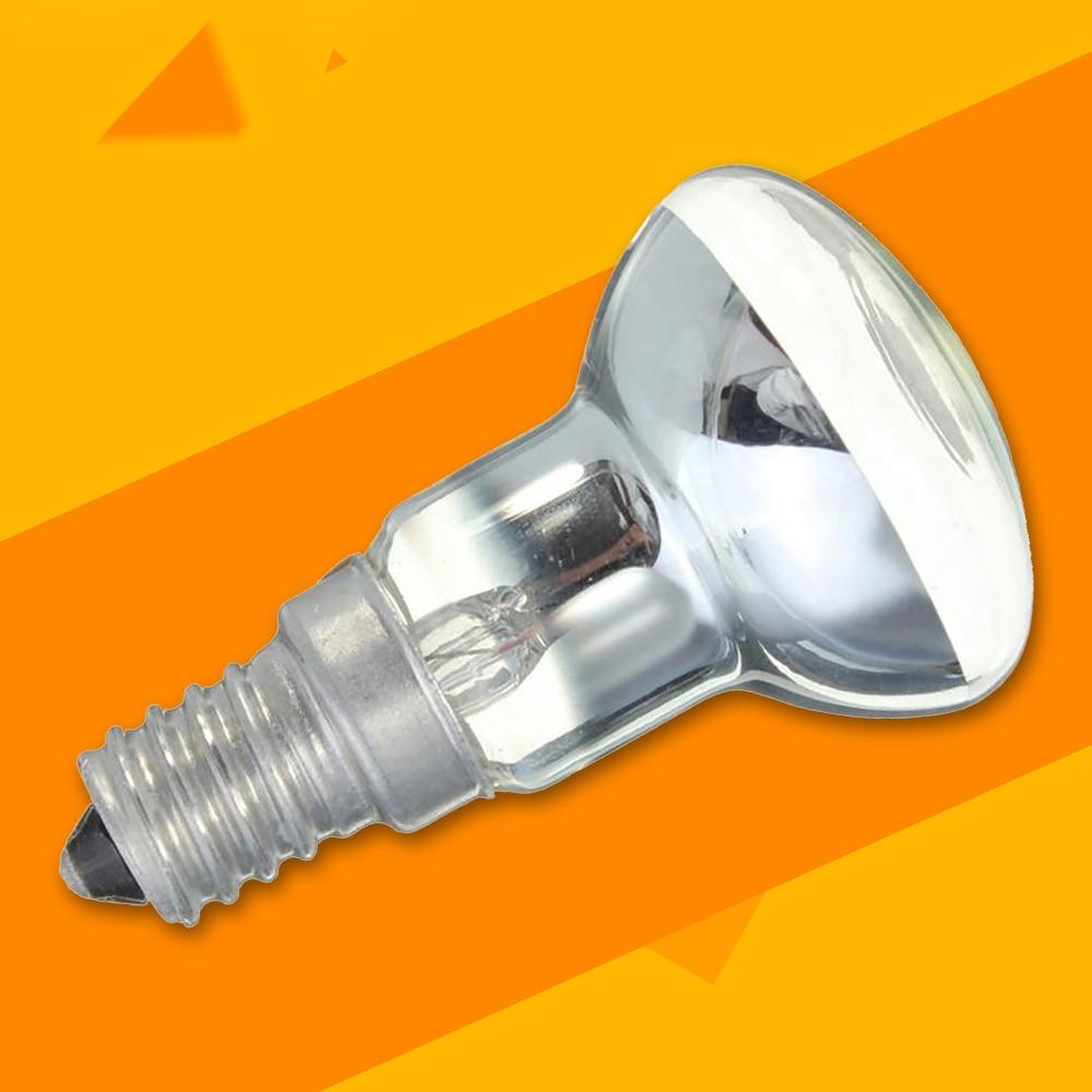 Лампа Эдисона 30 Вт E14 светильник с держателем R39 отражатель Точечный светильник лава лампа накаливания винтажный Декор лампа украшение дома