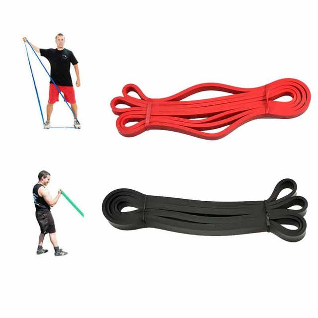 Free Shipping 208cm Natural Latex Pull Up Physio Resistance Bands Fitness CrossFit Loop Bodybulding Yoga Exercise Equipment